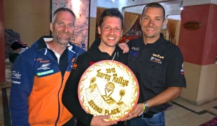 Christian Horwath wins 2nd place in Expert group on Tuareg Rallye 2018