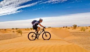 S kolesom čez sipine: samo brez panike