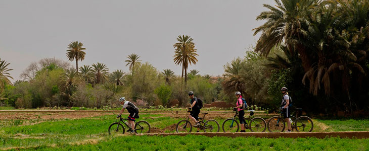 Day 6 cycling MA Tinghir